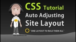 getlinkyoutube.com-CSS Auto Adjusting Stretch Fit Web Site Layout Tutorial HTML5 Template