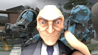 getlinkyoutube.com-Mann vs Machine | MvM Robots versus Team Fortress 2 in Garry's Mod