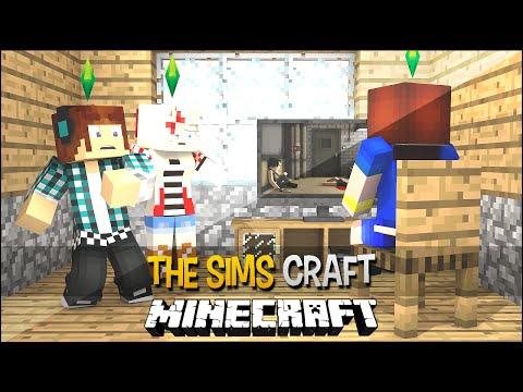 The Sims Craft Ep.47 - Video Game e  Maior Susto da Minha Vida !!  - Minecraft