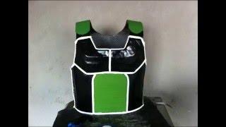 getlinkyoutube.com-Como hacer la armadura saiyajin (Bardock)