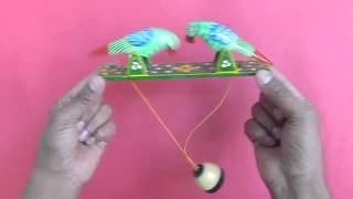 getlinkyoutube.com-PECKING ORDER - Traditional Indian wooden pecking birds!