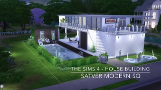 getlinkyoutube.com-The Sims 4 - House Building - Satver Modern SQ