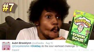 SOUR WARHEAD CHALLENGE! | #CKADay [7]