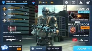 getlinkyoutube.com-Modern Combat 5 hack desbloquear nuevas armas