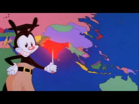 Animaniacs - Yakko's World - HIGH QUALITY