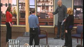 getlinkyoutube.com-Pregnant By A Sex Offender (The Steve Wilkos Show)