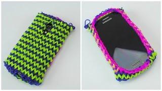 getlinkyoutube.com-Loom Bands Handy Hülle Samsung S3 Mini / Rainbow Loom Smartphone Case Samsung Galaxy S III Mini