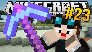 getlinkyoutube.com-Minecraft Pocket Edition | ENCHANTED DIAMOND PICKAXE!! | #23