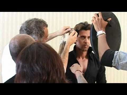 Hrthik Roshan sitting for Madame Tussauds London
