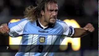 getlinkyoutube.com-Batistuta Top 10 Goals ● Argentina ● HQ