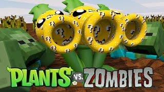 getlinkyoutube.com-Minecraft | LUCKY BLOCK PLANTS VS ZOMBIES BOSS CHALLENGE!