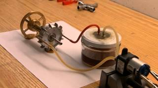 getlinkyoutube.com-Homemade Jet Engine 2.0 | Oil System Test