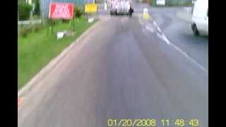 getlinkyoutube.com-J50 FED car deliberately swerves into cyclist - driver charged