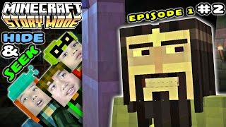 getlinkyoutube.com-Lets Play Hide And Seek With Ivor -Minecraft Story Mode Episode 1 Part 2