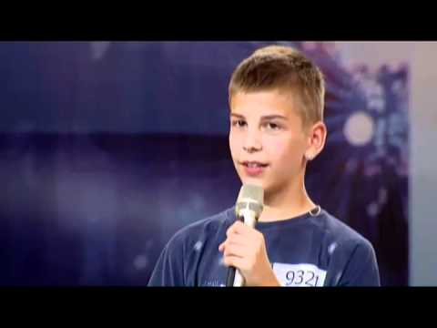 Hrvatski Super Talent (18.09.2011.) - Eugen Galetic