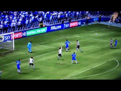 FIFA 10 ()DIAGONAL BICYCLE-KICK()