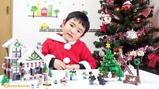 getlinkyoutube.com-レゴシティ アドベントカレンダー2016&レゴ クリエイター 冬のおもちゃ屋さん 10249
