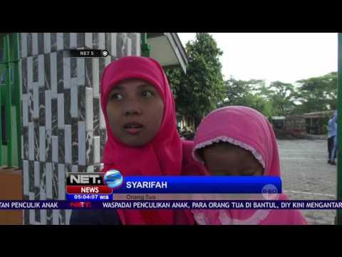 Ini Kiat yang Dilakukan Sekolah di Malang Cegah Praktek Penculikan - NET5