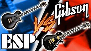Gibson Les Paul vs ESP (E-II) Eclipse Shootout || Which Should You Get?? width=