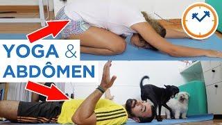 🕘  NOSSOS 2 TREINOS RÁPIDOS PARA DIAS OCUPADOS (abdominais e posturas de yoga) | Saúde na Rotina