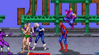 getlinkyoutube.com-Spider-Man: The Video Game arcade 4 player Netplay 60fps