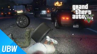 getlinkyoutube.com-GTA 5 미친 시민 자동차 모드 - GTA 5 Mod Showcase: Insanely Bad Drivers Traffic Mod