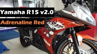 getlinkyoutube.com-Yamaha R15 Version 2.0 | Limited Edition | Special Edition Model New Colour | 2016 | India
