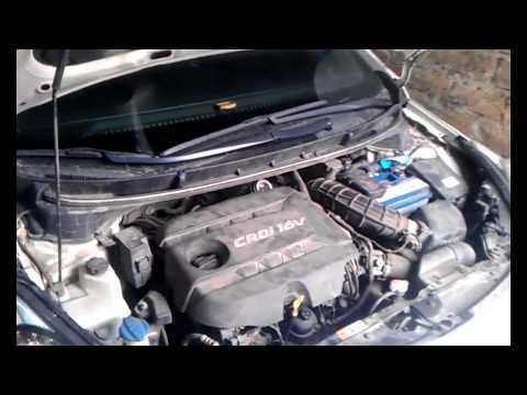 Hyundai i30 снятие рулевой рейки