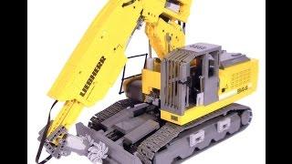 getlinkyoutube.com-LEGO Technic Motorized Liebherr R 944 C Tunneling Excavator