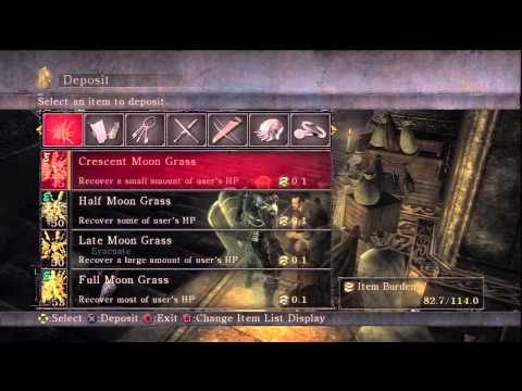 Demon's Souls: Infinite Souls/Items Glitch in seconds