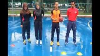 getlinkyoutube.com-Teknik Hantaran Lantun Handball..