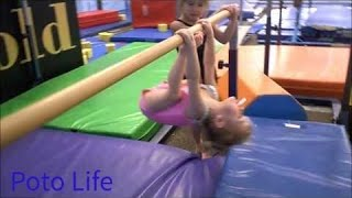 getlinkyoutube.com-2 Year Old Gymnast!  Baby Gymnastics and Amazing Skill