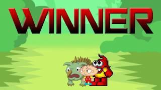 getlinkyoutube.com-MUGEN: Stewie And Plok Vs. Yee (Peek  & Oro)
