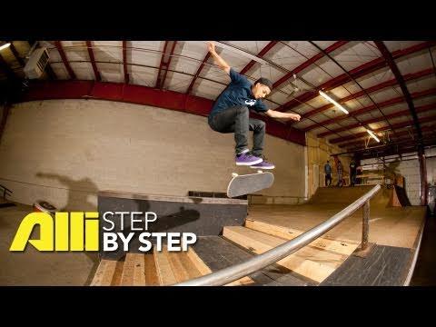 Alli Skate - Step By Step: Chaz Ortiz Trick Tip, How to do a Fakie Kickflip