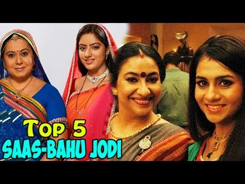 Top 5 Saas-Bahu Jodi on Television