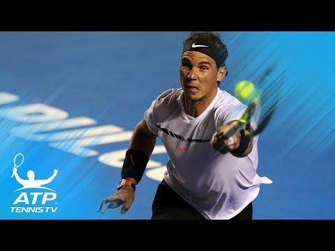 Top 5 Rafael Nadal Shots from Acapulco 2017