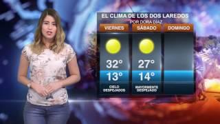 Clima viernes 24 de febrero