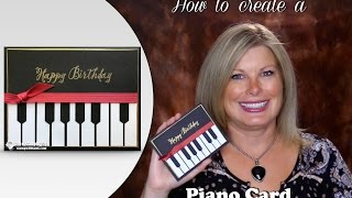 getlinkyoutube.com-How to make a Piano Card featuring Stampin Up