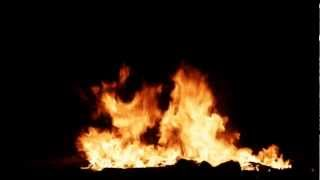 getlinkyoutube.com-Fire On Black Background HQ