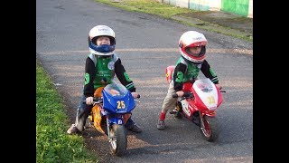 getlinkyoutube.com-Minibike | Mini moto - 29.8. 2006 | 7 year old | CZ | Czech | Part 2