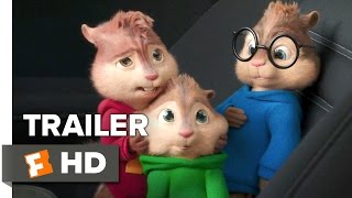 getlinkyoutube.com-Alvin and the Chipmunks: The Road Chip Official Trailer #1 (2015) - Animated Movie HD