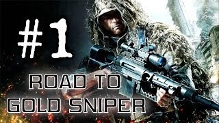 getlinkyoutube.com-Call Of Duty Ghosts: Road To Gold Sniper #1 [USR] Live