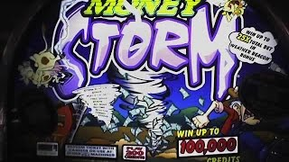 Money Storm * 5 cents  machine * $10 max bet ** SLOT LOVER **