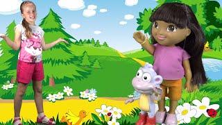getlinkyoutube.com-Даша и Башмачок даша путешественница мультфильм на русском dora the explorer мультфильмы для детей