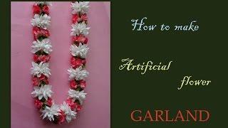 getlinkyoutube.com-Do it yourself fabric garland lei