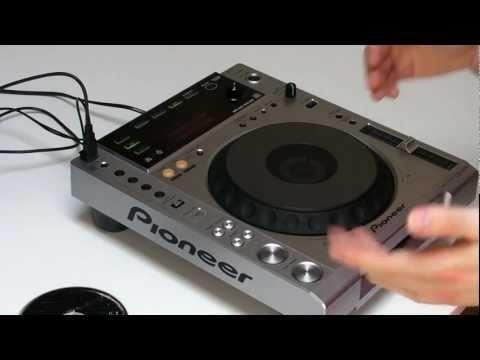 Test Pioneer CDJ 850