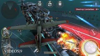 getlinkyoutube.com-GUNSHIP BATTLE : Episode 10 Mission 9 Destroy Leviathan  - B-17 Flying Fortress