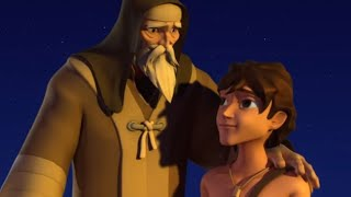 Superbook - Episode 2 - The Test: Abraham And Isaac - Full Episode (Official HD Version)