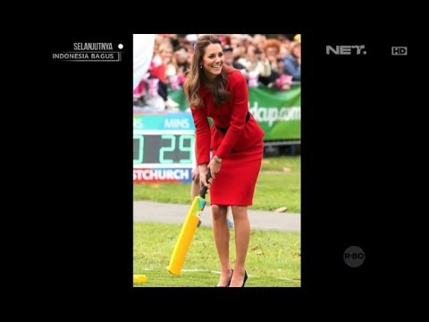 Pangeran William dan Kate Middleton bermain Cricket di New Zaeland