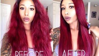 getlinkyoutube.com-RED HAIR FOR FALL  Ft. Yolissa  Hair Comapany & Acevivi